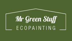 Mr Green Stuff Eco Painting - NO VOC Painting Logo