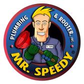 Mr. Speedy Plumbing & Rooter Inc. Logo