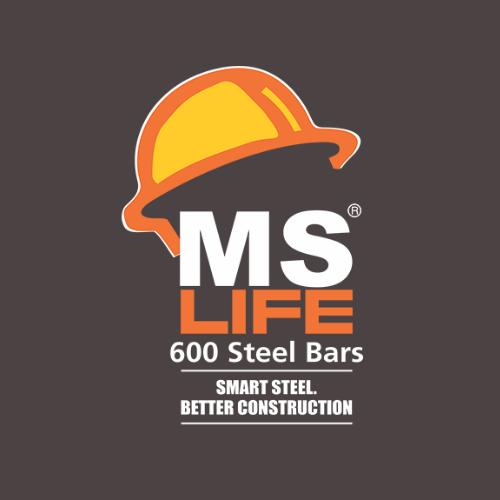 MS Life Steel Logo