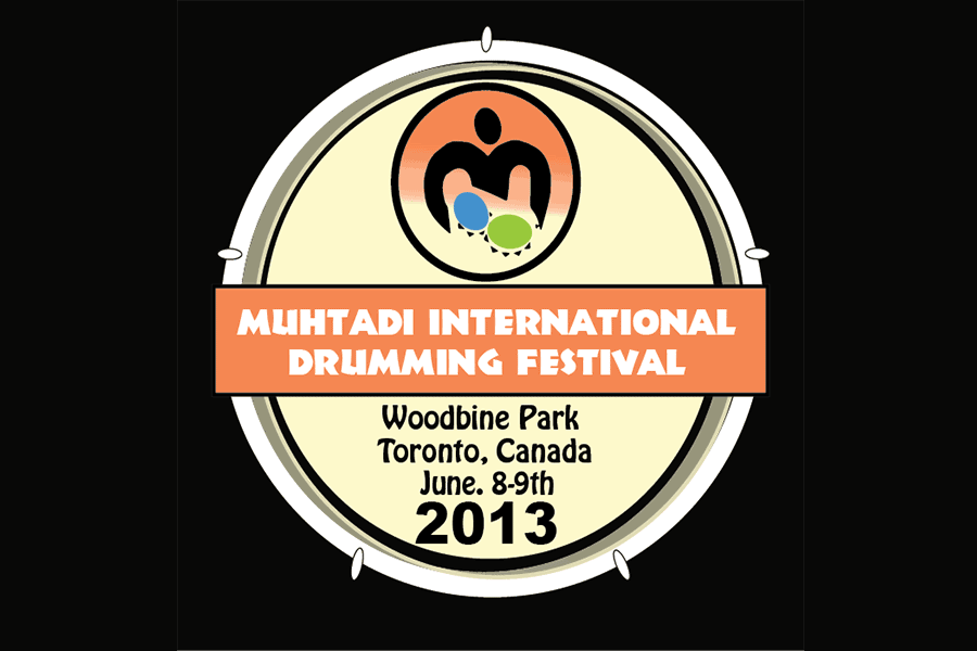 Muhtadi International Drumming Festival Logo