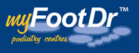 my FootDr podiatry centres Logo