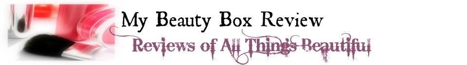 MyBeautyBoxReview.com Logo