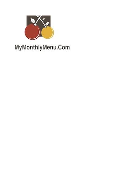 mymonthlymenu Logo