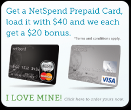 Netspend Refer A Friend Logo