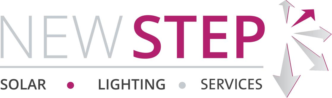 New Step Solar & Lighting Logo