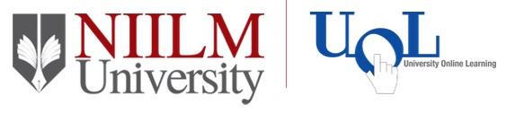NIILM University Onine Logo