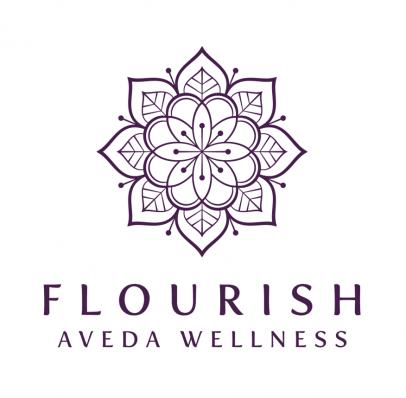Flourish AVEDA Wellness Logo