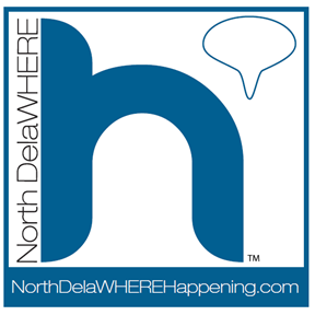 NorthDelaWHEREHappening.com Logo