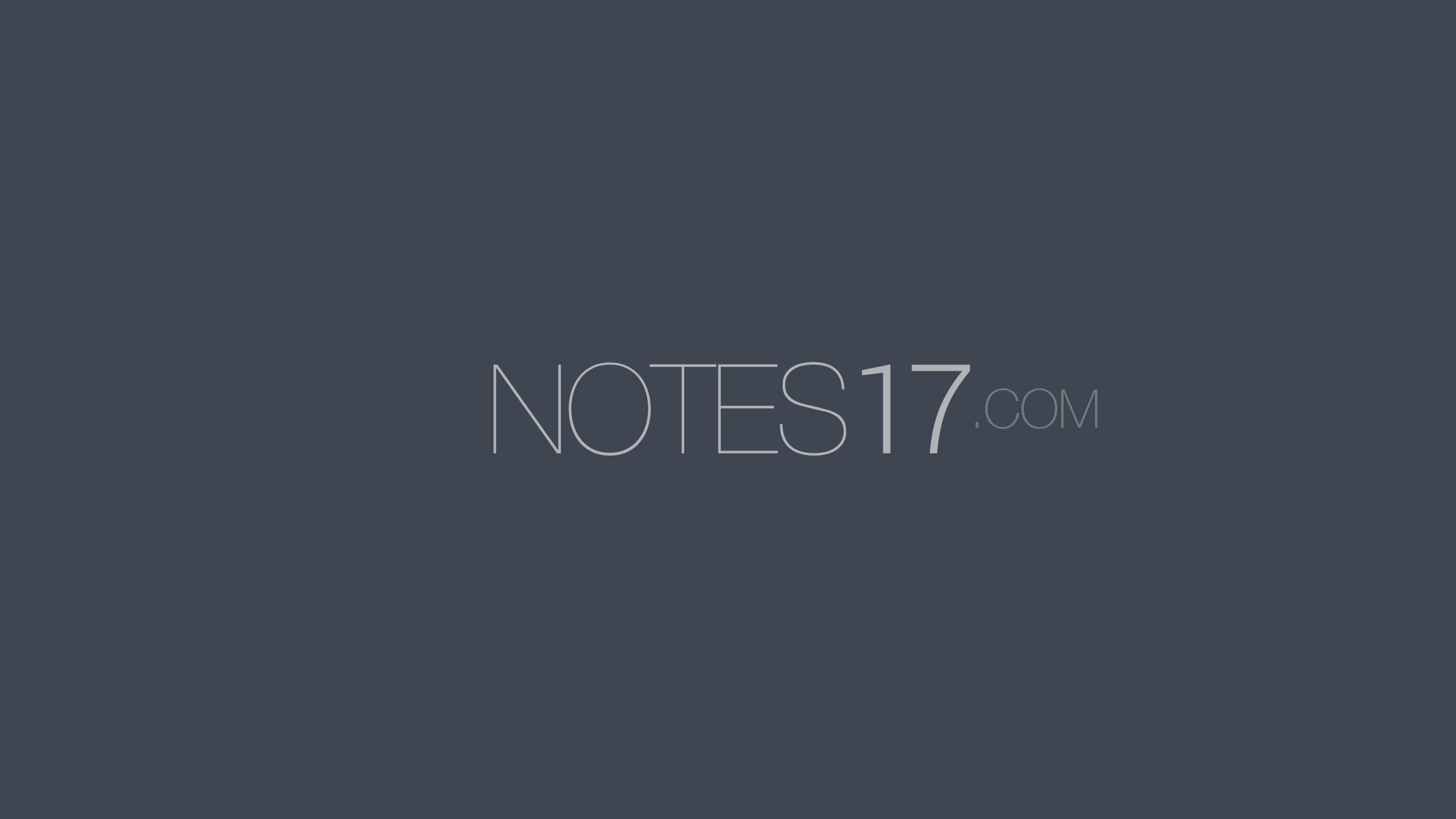NOTES17 LLC Logo