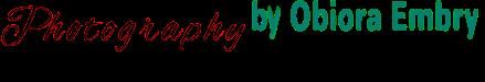 Photography By Obiora Embry Logo