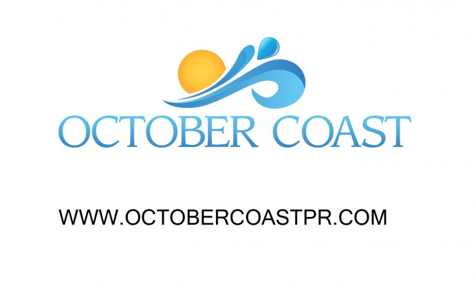 OCTOBER COAST PUBLICITY Logo