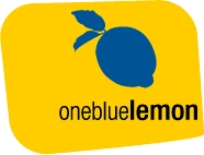 One Blue Lemon Logo