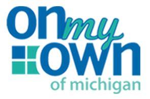 On My Own of Michigan Logo