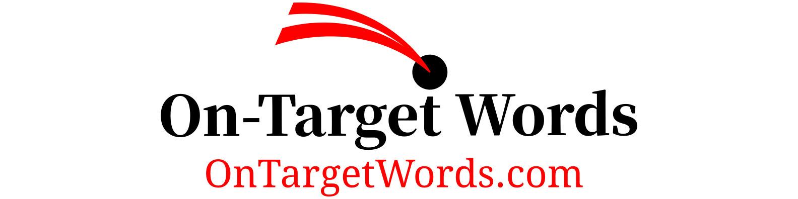 On-Target Words, LLC Logo