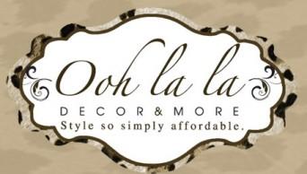 Ooh La La Decor & More Logo
