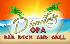 Dimitri's Bar Deck and Grill Logo