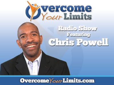 The Overcome Your Limits Radio Show Logo