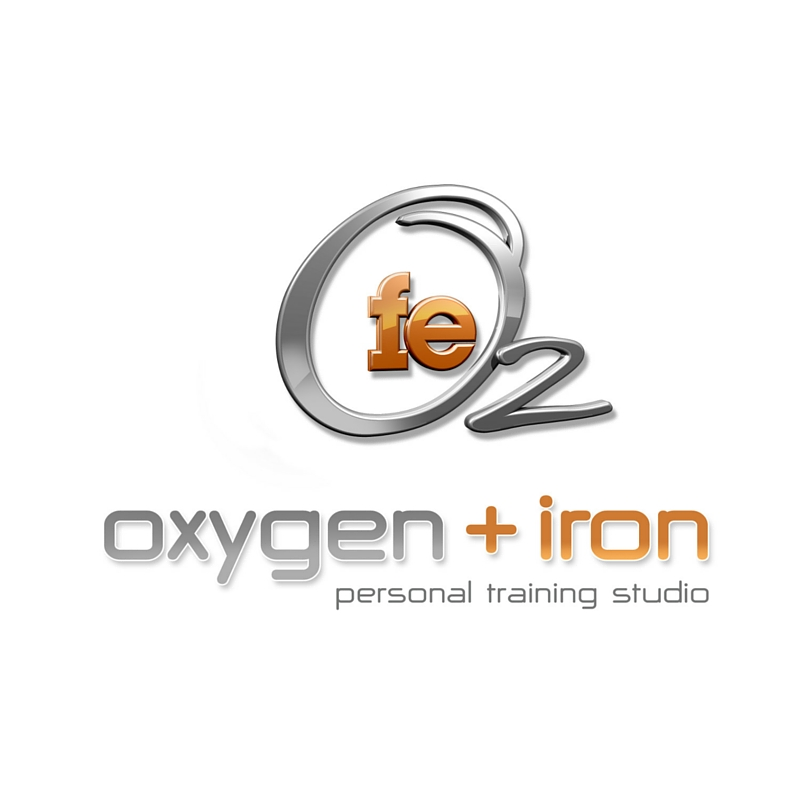 Oxygen and Iron Personal Training Logo