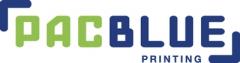 PacBlue Printing Logo