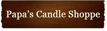 Papa's Candle Shoppe Logo