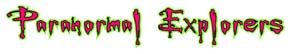 Paranormal Explorers, Inc. Logo
