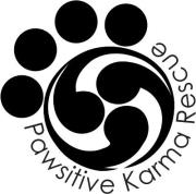 Pawsitive Karma Rescue Logo