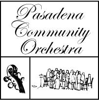 Pasadena Community Orchestra Logo