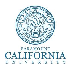 Paramount California University Logo