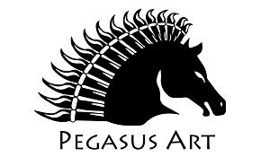 Pegasus art Logo