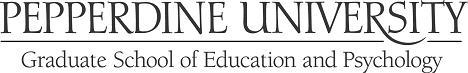 Pepperdine University GSEP Logo