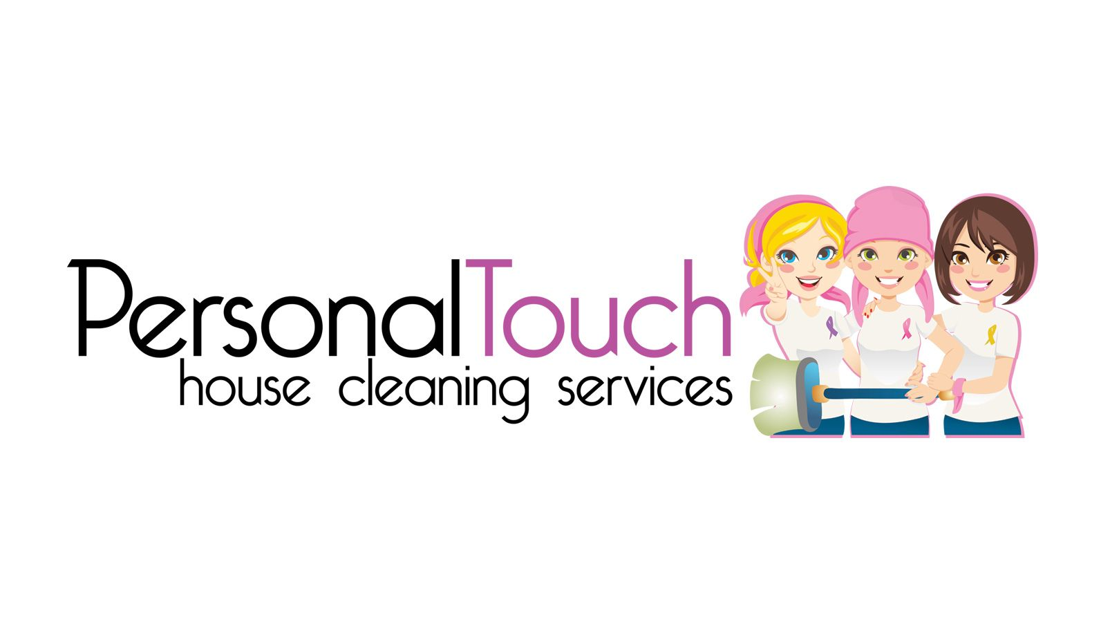 Personal Touch House Cleaning Logo