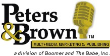 Peters and Brown Multi-Media Marketing Logo