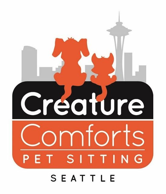 Creature Comforts Pet Sitting of Seattle Logo