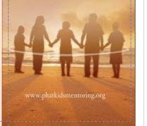 The P.H.A.T. Kids Mentoring Program Logo