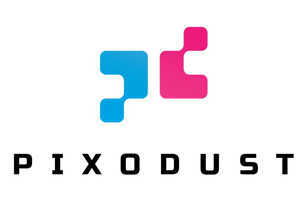 Pixodust Games Logo