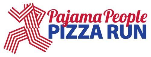 Pajama People Pizza Run Logo