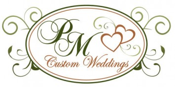 PM Custom Weddings Logo