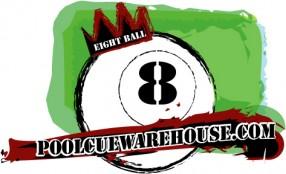 www.poolcuewarehouse.com Logo