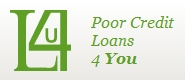 Poor Credit Loans 4 You Logo