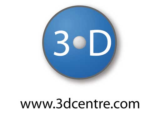 The 3D Centre Logo