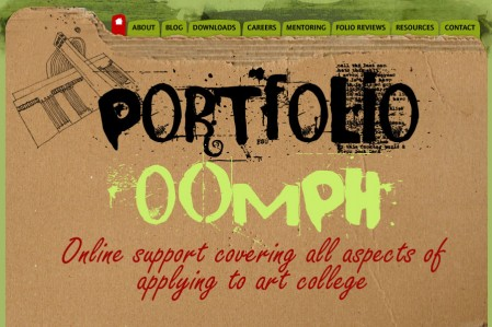 Portfolio Oomph Logo