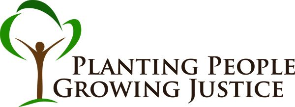 Planting People Growing Justice Leadership Inst. Logo