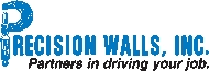 Precision Walls, Inc Logo