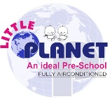 Little Planet Preschool Logo