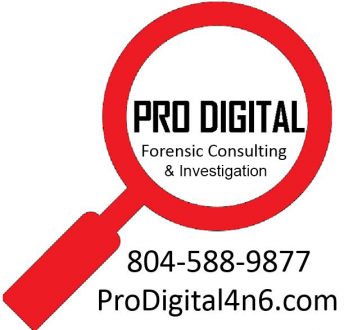 Professional Digital Forensic Consulting, LLC Logo