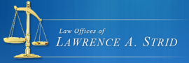 Law Offices of Lawrence A. Strid Logo