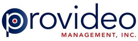 Provideo Management Logo