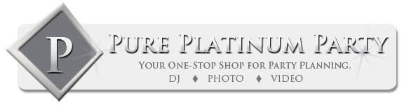 Pure Platinum Party Logo