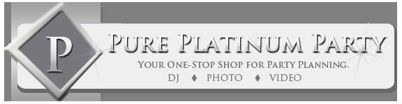 Pure Platinum Party Logo