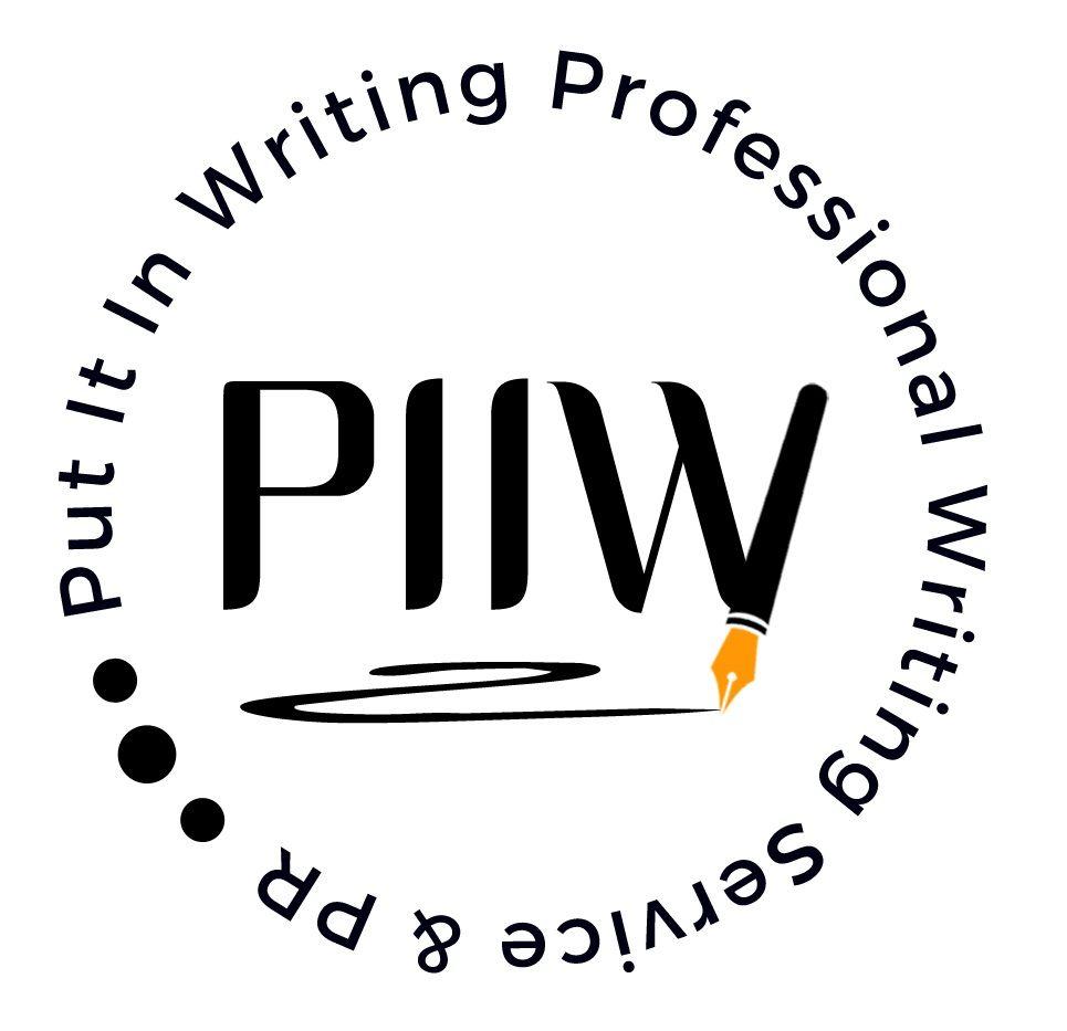 Put It In Writing Logo